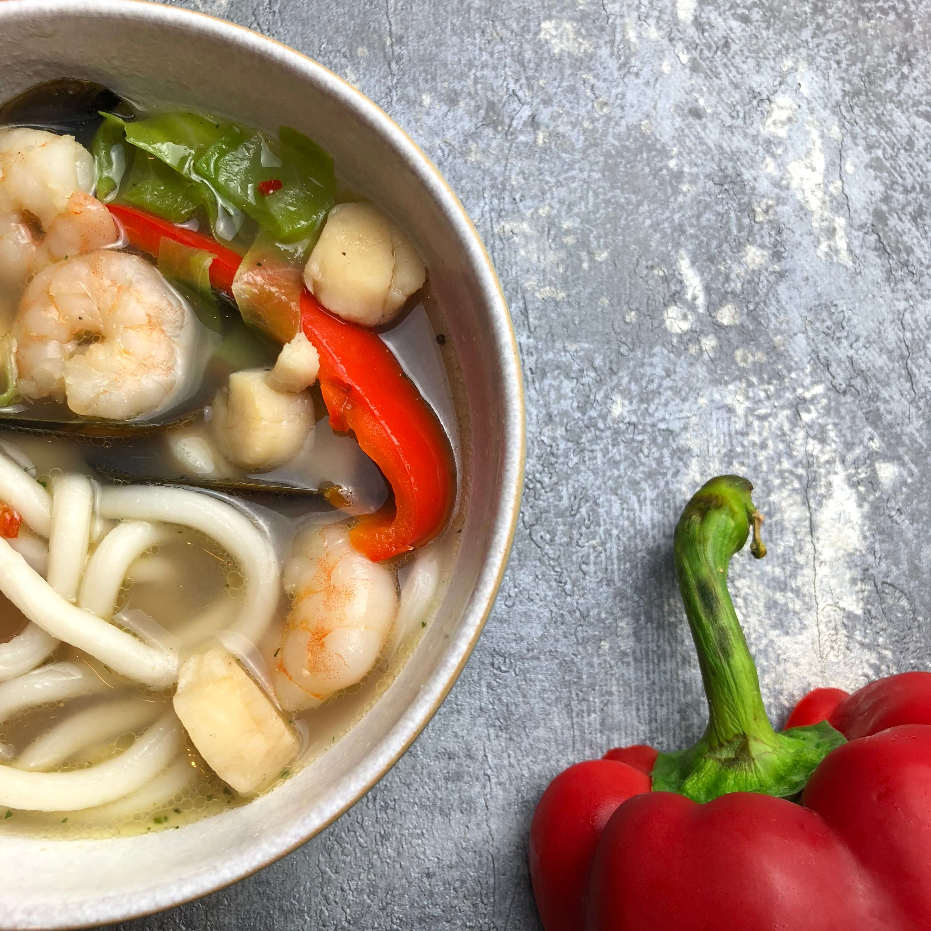 Asian Inspired Seafood Soup Recipe ...